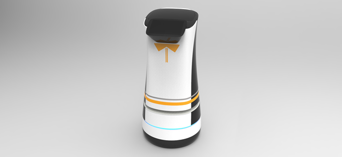 Roby-Nana酒店服务机器人及解决方案