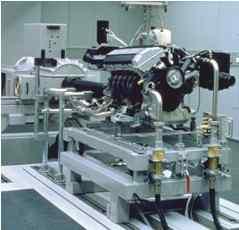 Gantner测量仪器用于发动机测试