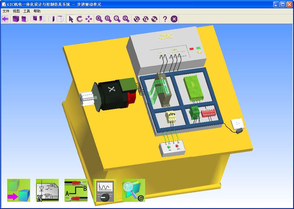 机电一体化设计与控制仿真系统产品