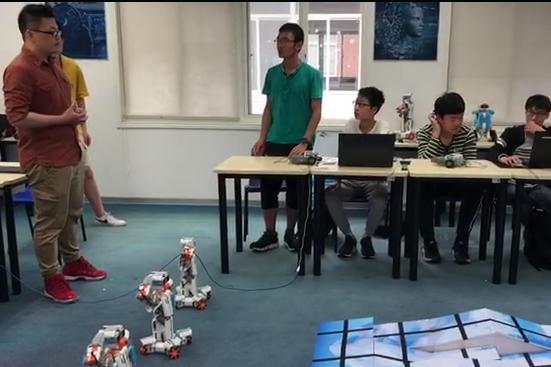 乐学机器人教育-人工智能公开课-演示课
