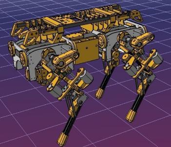 开源机械狗图纸-OpenDog