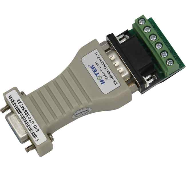 rs-485或rs-422信号,转换器将rs-232通信距离延长至1
