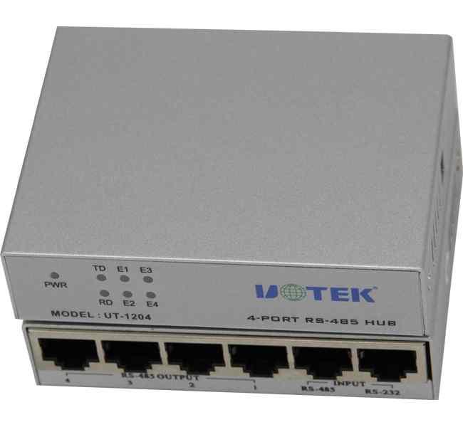 4口rs-485智能集线器