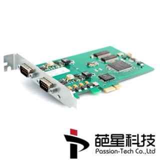 PCIEcan_HS_HS_基双通道高速PCIX接口CAN总线分析仪