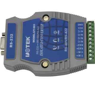 光隔防雷型RS232到RS485 422导轨式转换器