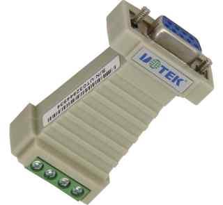 RS232到RS485无源转换器 内置接线端子