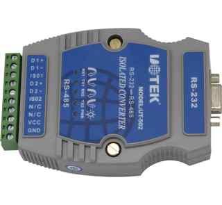 光隔防雷型RS232到RS485双路导轨式转换器