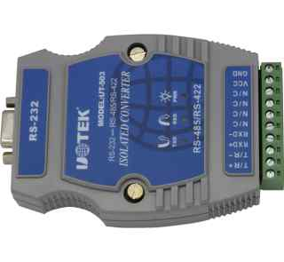 光隔防雷型 RS232 RS485 42 2导轨式转换器