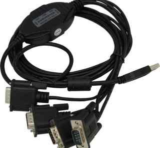 4口 RS232 USB2 0转换器