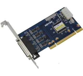 4口RS232 PCI高速多串口卡 支持电源输出