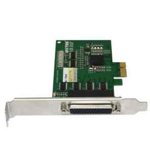 4口 RS232 PCI-E 高速多串口卡