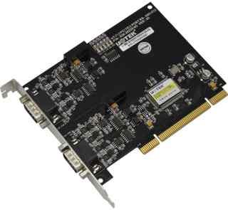 2口RS485 422 PCI光隔多串口卡