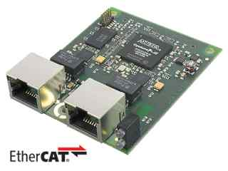 Industrial Ethernet Module for EtherCAT