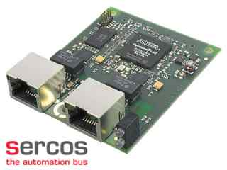 Industrial Ethernet Module for sercos