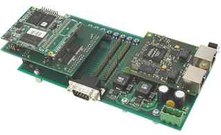 Evaluation Kit for the Industrial Ethernet Module