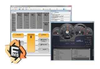 PCAN-FMS Simulator 2:FMS CAN数据仿真软件