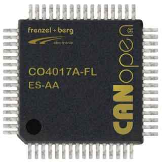 CO4017A-FL Single Chip CANopen Controller IO控制器