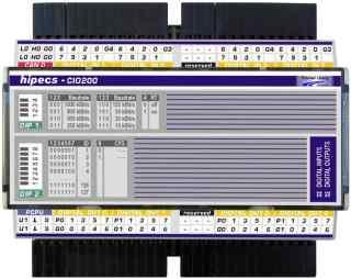 hipecs CIO200 CANopen digital IO module 模块