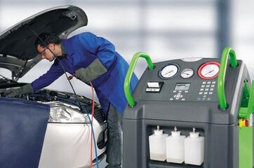 汽车空调制冷剂回收净化加注机