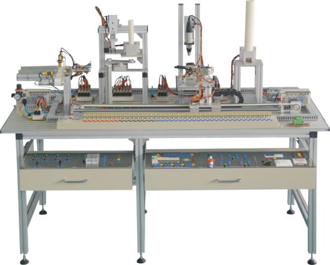 六站模块式柔性自动化生产线实验实训系统