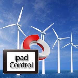 Ipad控制风力发电的项目